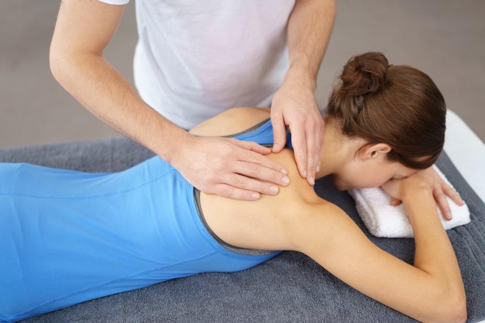 Masaz leczniczy kregoslupa